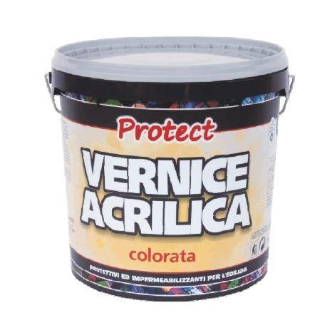 VERNICE ACRILICA 20 Kg COLORE ROSSO