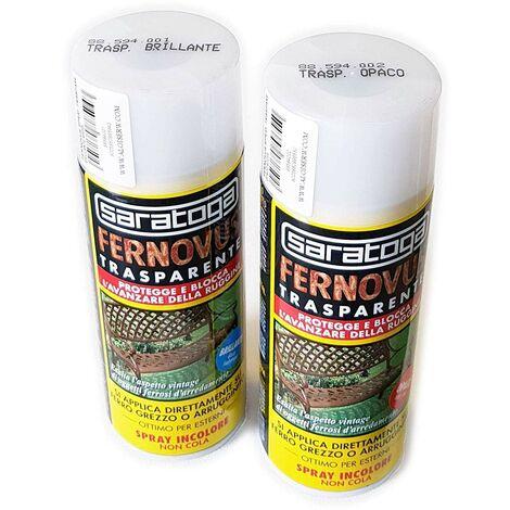 Vernice Antiruggine Trasparente Spray Fernovus 400ml Saratoga