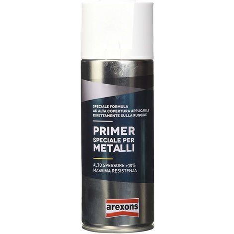 Vernice Bomboletta Spray Fondo Riempitivo Stucco Arexons Ml400 Speciale Metallo