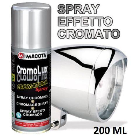 Vernice CROMOLUX cromatura spray 200ml macota Vernice multiuso CromoLux