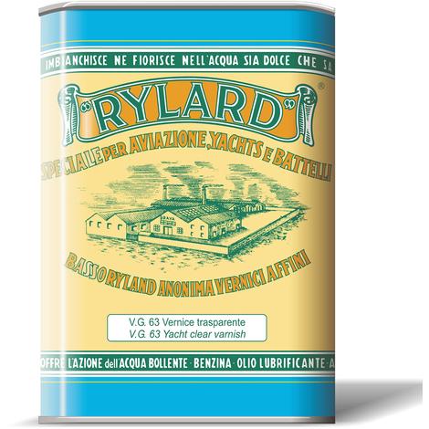 Vernice oleofenolica vg 63 brava rylard lucida confezione litri 2,5