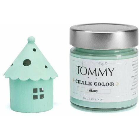 """main image of """"Vernice shabby chic chalk verde tiffany ml.200 - Verde Tiffany"""""""