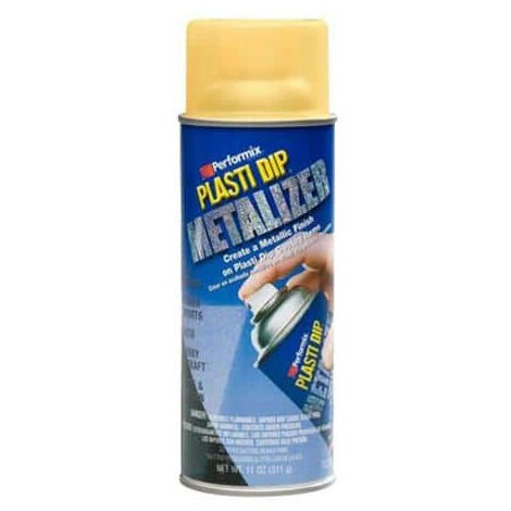 Vernice spray metallizzata aerosol Performix - Plasti Dip - Colore oro da 400ml