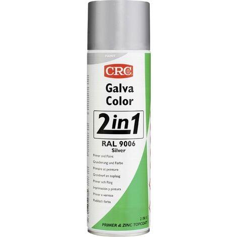 Vernis anticorrosion GALVACOLOR aluminium blanc RAL 9006 CRC GALVACOLOR 20584-HO 500 ml S000251