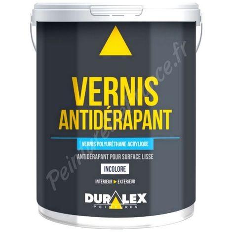 Vernis antidérapant hydro DURALEX excellente dureté sur sol brute ou peint