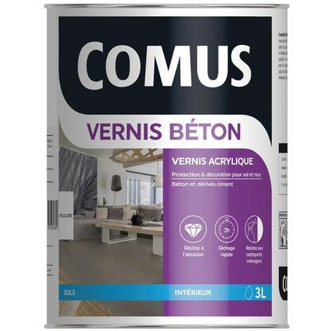 VERNIS BETON - COMUS - Aspect ciré haute résistance