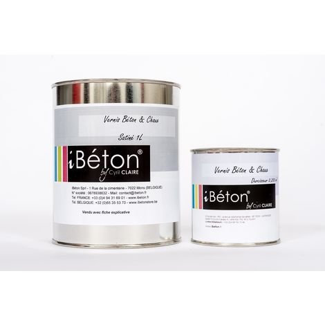 """main image of """"Vernis bi composant pour Béton et Chaux"""""""