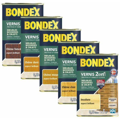 Vernis bois Bondex 0,5L Brillant