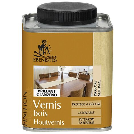 Vernis bois BRILLANT - Les anciens ébénistes