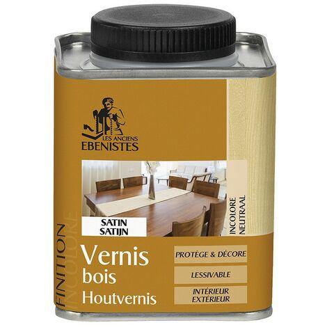 Vernis bois SATIN - Les anciens ébénistes
