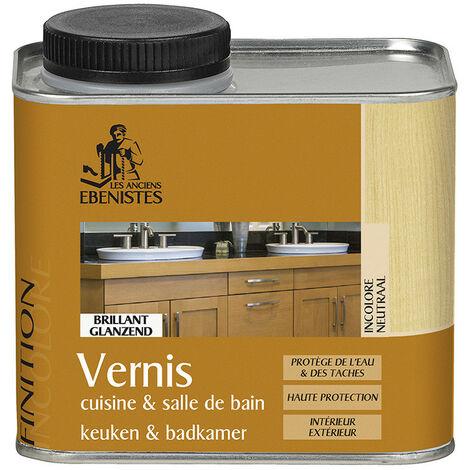 Vernis cuisine et salle de bain 450ML incolore - Les anciens ébénistes