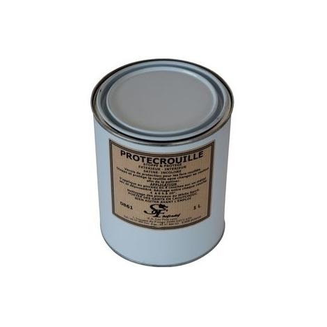 Vernis de protection satiné incolore 1L 0861