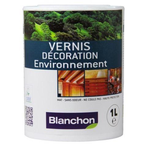 Vernis Décoration Environnement, incolore, bidon de 1 litre