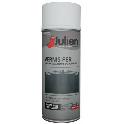 Vernis Fer Incolore Brillant 400ml - JULIEN