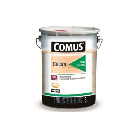 Vernis fond dur 2040 Cellulostyl COMUS - 5 L - 7746