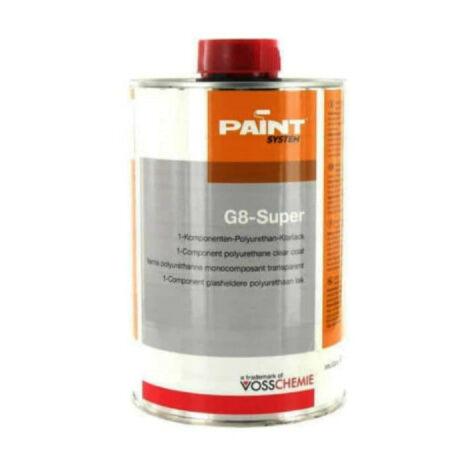 Vernis G8-Super polyuréthane transparent Vosschemie 1L