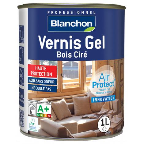 Vernis Gel Bois Ciré Air Protect® Blanchon 1L - Plusieurs modèles disponibles