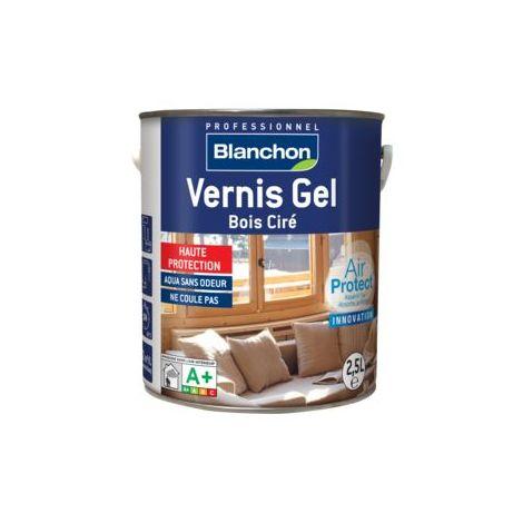 Vernis Gel Bois Ciré Air Protect® Blanchon 2,5L - Plusieurs modèles disponibles