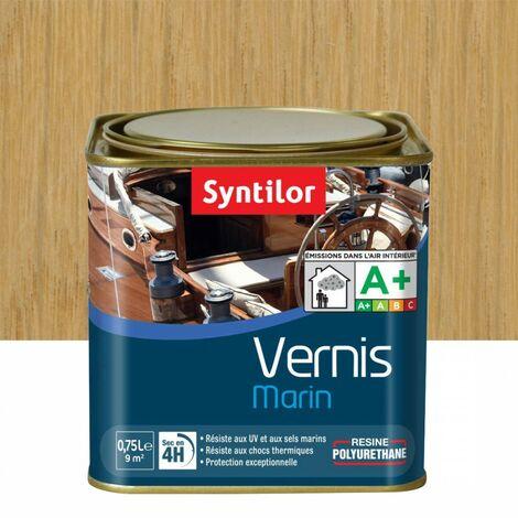 "main image of ""Vernis marin bois SYNTILOR incolore mat 0.75 l"""
