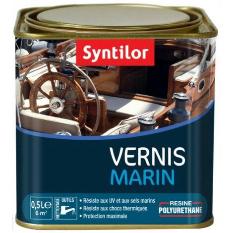 Vernis marin incolore Syntilor: brillant, mat ou satiné - plusieurs modèles disponibles