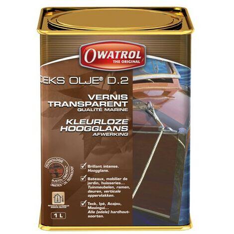 Vernis marin transparent DEKS OLJE D2 - Brillant intense OWATROL- plusieurs modèles disponibles