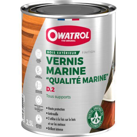 Vernis marine Deks Olje D.2 très souple - Brillant intense