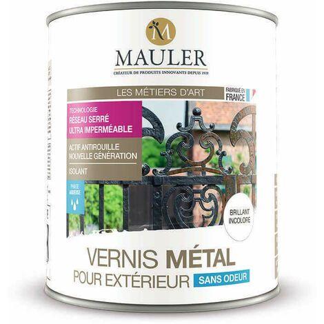 Vernis métal pour extérieur faible odeur - MAULER