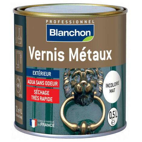 Vernis métaux Incolore Mat Blanchon 0.5L