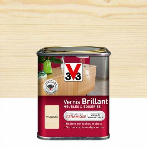 Vernis meuble et objet V33, incolore brillant, 0.25l