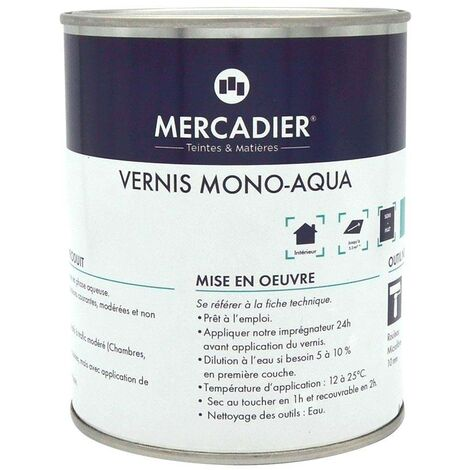Vernis Mono-Aqua - Semi Mat
