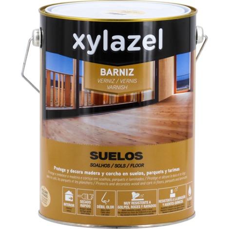 Vernis Planchers à l'eau satin Xylazel | 4 L