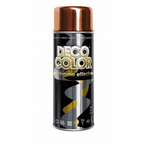 Vernis spray peinture déco 400ml cuivre miroir chr