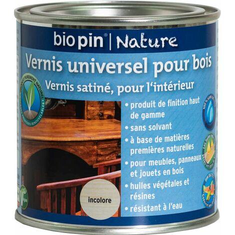 Vernis universel pour bois 0,375 L - Incolore