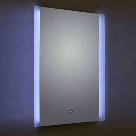 Verona Ashbourne LED Bathroom Mirror with Touch Sensor & Demister 800mm H x 600mm W