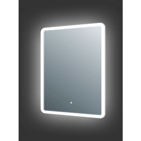 Verona Bathroom Mirror with 25mm LED Frosted Edge