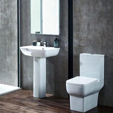 Verona Bella 4 Piece Bathroom Suite - 1 Tap Hole