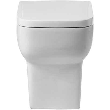Verona Bella Back to Wall Toilet with Soft Close Seat