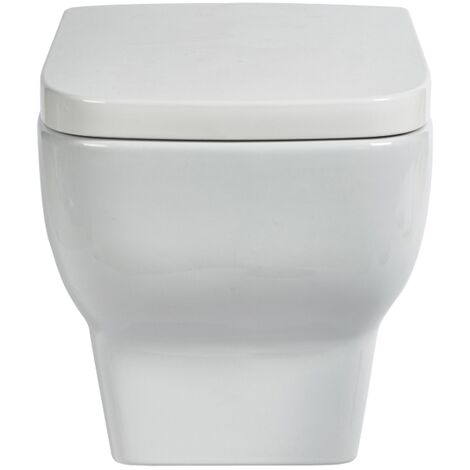 Verona Bella Wall Hung Toilet Pan - Soft Close Seat