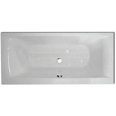 Verona Double Ended Rectangular Bath 1900mm x 800mm - Tungstenite