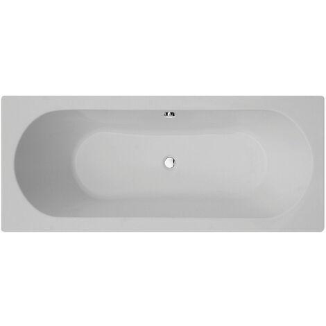 Verona Duo Rectangular Double Ended Bath 1700mm x 750mm Acrylic - 0 Tap Hole