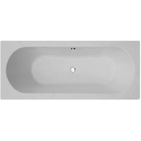 Verona Duo Rectangular Double Ended Bath 1800mm x 800mm Acrylic - 0 Tap Hole