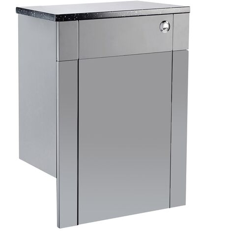 Verona Holborn Back to Wall Toilet WC Unit 600mm Wide - Dust Grey