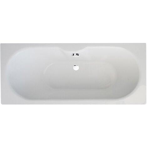 Verona Luna Rectangular Double Ended Bath 1700mm x 750mm - 0 Tap Hole