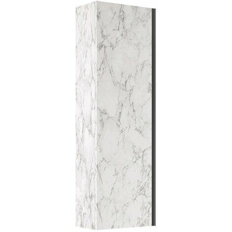 Verona Mode Wall Hung 1-Door Tall Unit 345mm Wide - Marble