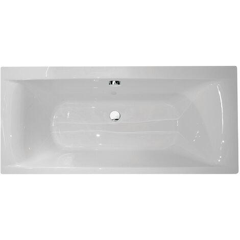 Verona Oporto Rectangular Double Ended Bath 1700mm x 800mm Acrylic - 0 Tap Hole