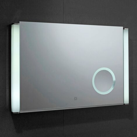 Verona Reflection Bathroom Mirror 500mm H x 775mm W LED Illuminated