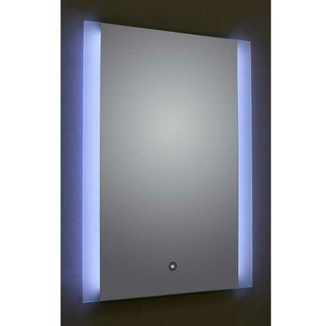 Verona Reflection Bathroom Mirror 800mm H x 600mm W LED Illuminated