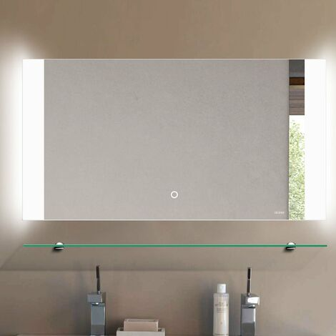 Verona Westbury LED Bathroom Mirror with Sensor and Demister 450mm H x 850mm W