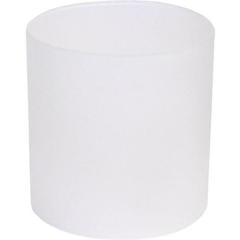 Verre de rechange universel cylindrique diametre 8,0 cm x 8,0 cm