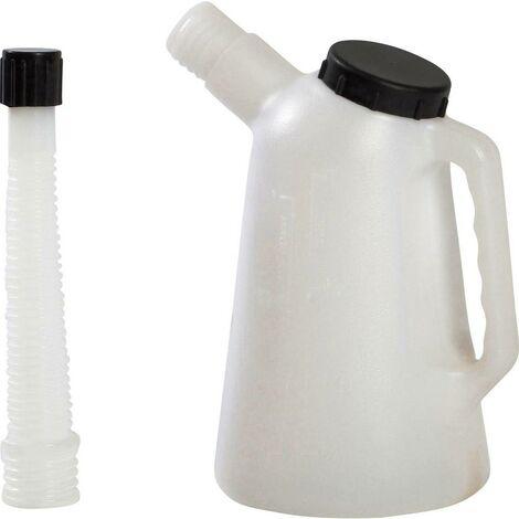 Verre doseurVerseuse de réserve 3 l;plastique